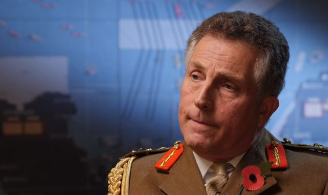 Tensions in NATO normal 'like a marriage', says British chief of defence staff