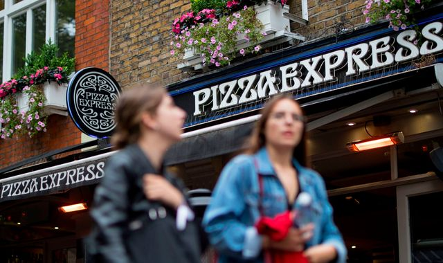 Coronavirus: PizzaExpress bakes plan to axe scores of UK restaurants