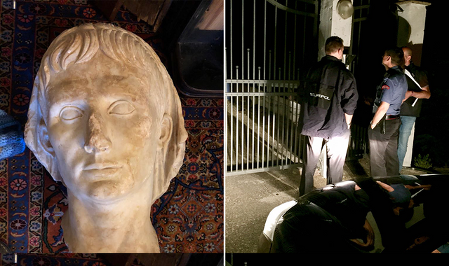 Archaeological artefact smuggling ring smashed after London raids