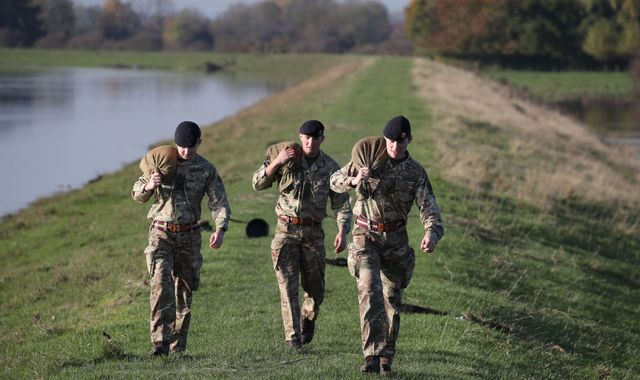 'You've not helped us': Boris Johnson accused as army sent to flood-hit areas