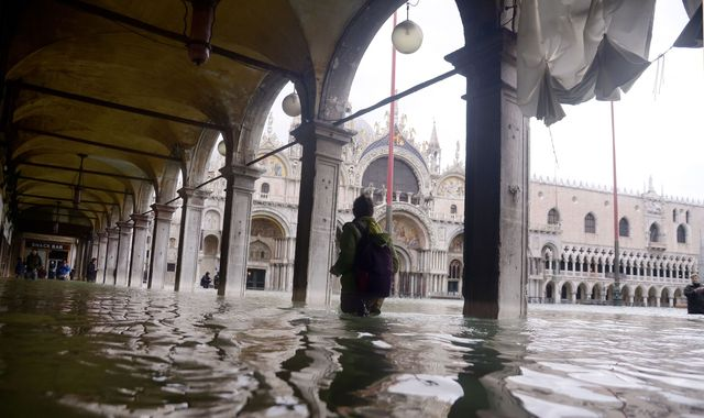 Venice left desolate and eerie as questions are asked over flood defences