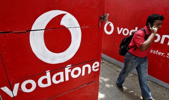 Vodafone sinks to £1.6bn loss after India court ruling