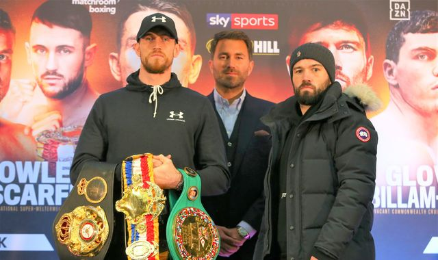 Smith vs Ryder: Callum Smith issues warning to John Ryder