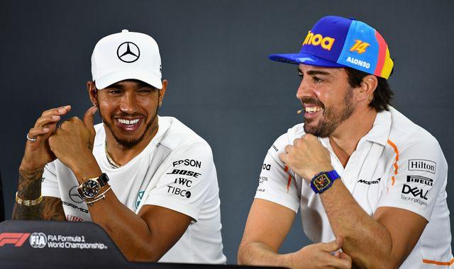 Fernando Alonso: Mercedes DAS system 'sends message' to F1 rivals