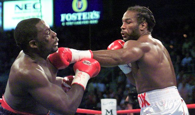 Ruiz Jr vs Joshua 2: Lennox Lewis sought sweet revenge in rematch against Hasim Rahman