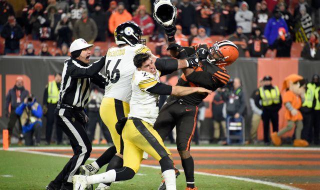Cleveland Browns' Myles Garrett appeals indefinite suspension for helmet attack
