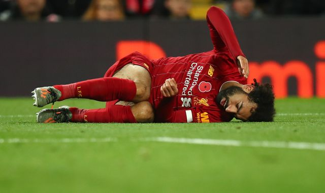 Mohamed Salah: Liverpool forward out of Egypt squad with ankle injury
