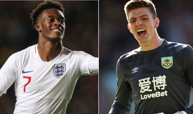 Callum Hudson-Odoi and Nick Pope to start for England against Kosovo