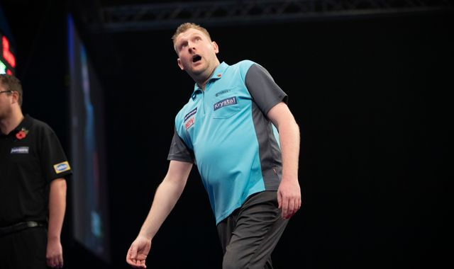 Grand Slam of Darts: Ryan Harrington faces Dave Chisnall for a place in the last eight