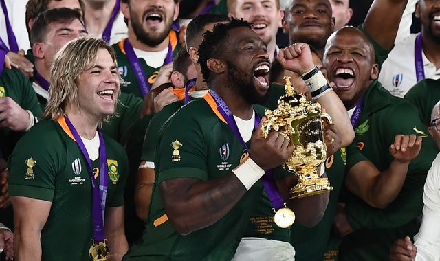 Laureus Awards: Rugby champions South Africa beat Liverpool to team honour