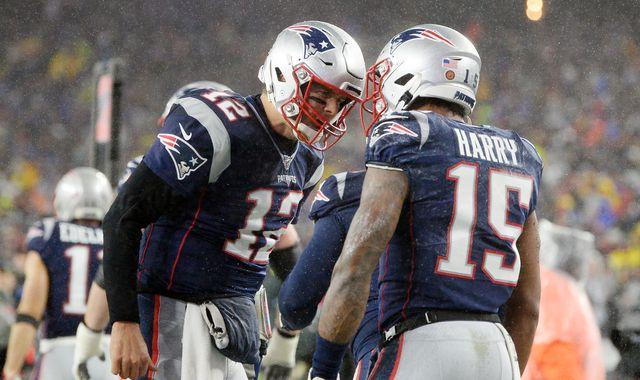 Dallas Cowboys 9 13 New England Patriots Tom Brady Throws
