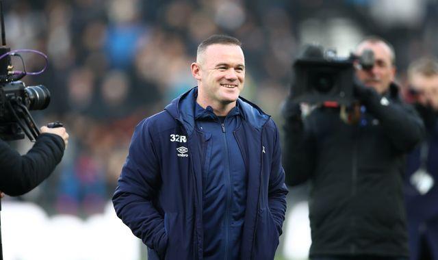 Wayne Rooney: Derby player-coach targets management