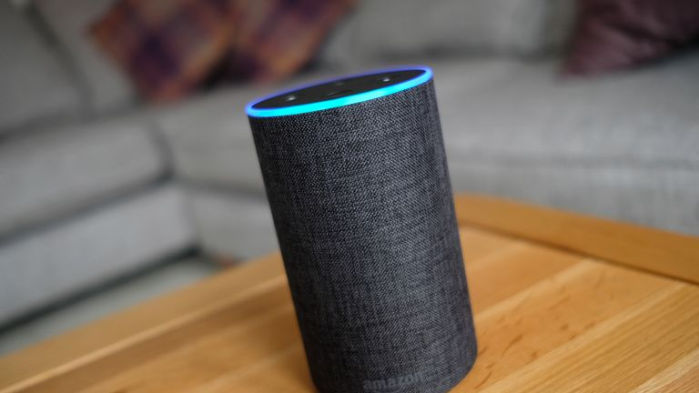 An overview of an Amazon Echo smart speaker. Amazon's Alexa is set to answer people's health questions by searching the NHS official website.