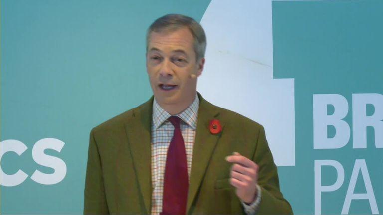 Brexit leader Nigel Farage