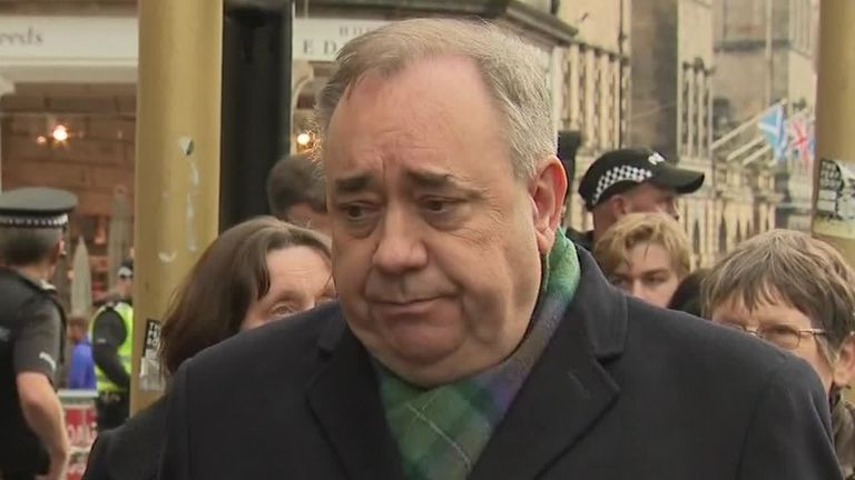 Alex Salmond: 'I'm innocent'
