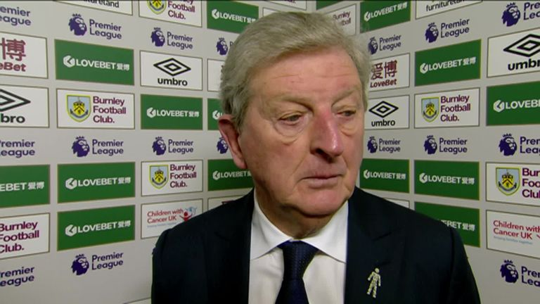 Roy Hodgson felt his Crystal Palace side deserved their 2-0 win against Burnley and urged his players to continue this form into the festive period