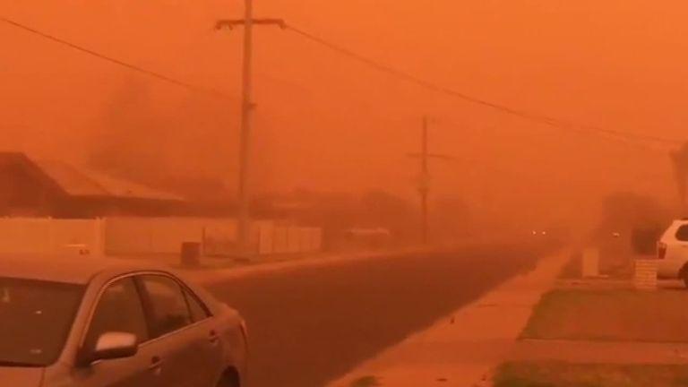 Mildura, Victoria dust storm