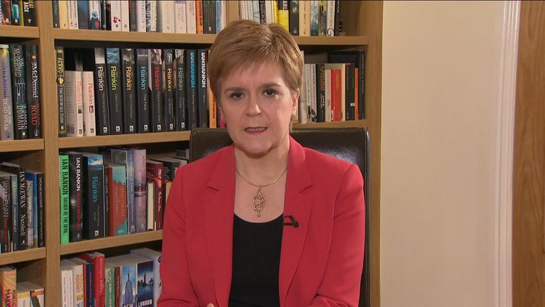 Scottish First Minister says for her party to support a minority Labour government certain conditions must be met.