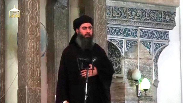 Abu Bakr al Baghdadi was killed in a US raid in October
