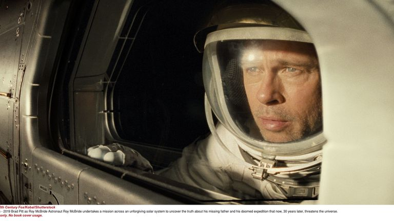 Brad Pitt in Ad Astra. Pic: 20th Century Fox