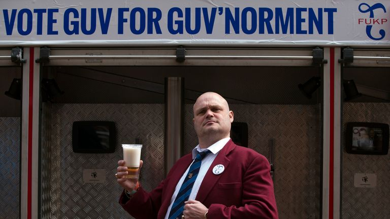 Al Murray is famous for his Pub Landlord character