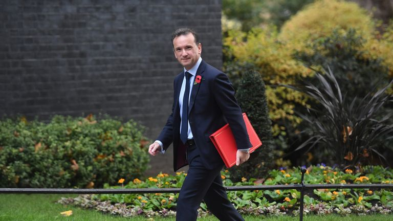 Welsh Secretary Alun Cairns arrives for a Cabinet meeting in Downing Street, London.