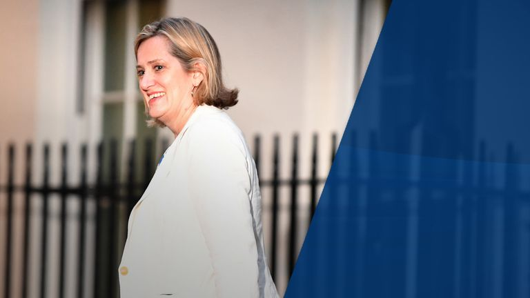 Amber Rudd was once tipped as a future Tory leader