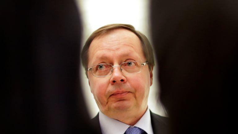 Andrei Kelin, the Russian ambassador to the UK.
