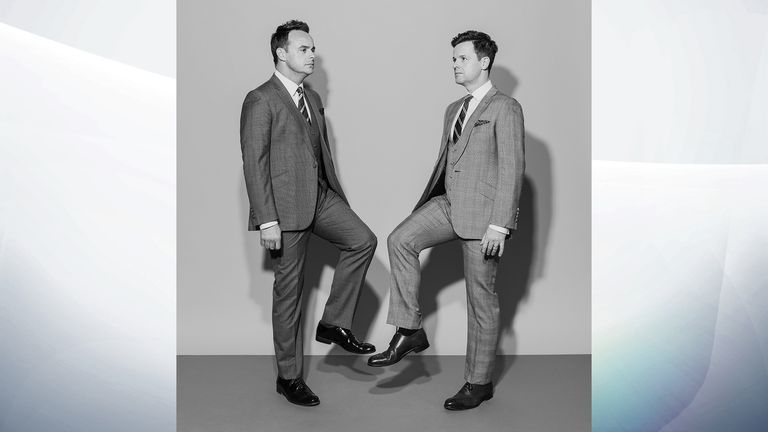 David Vintiner's pic of Ant and Dec - Salon Portrait Awards