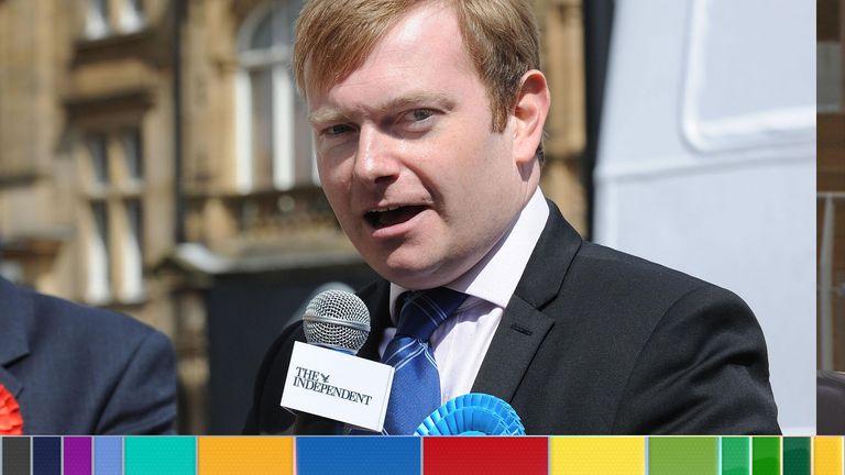 Tory wannabe MP Antony Calvert