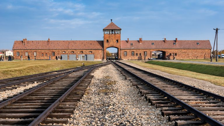 Auschwitz was one of the death camps in Poland