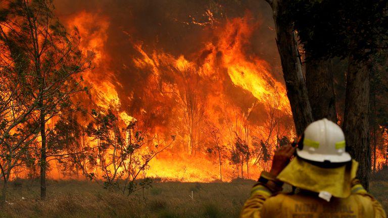 Australia wildfires still