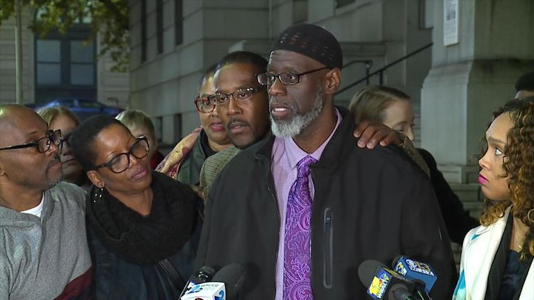 Three men incarcerated for 36 years in Maryland were exonerated n the killing of a Baltimore teenager after a review of their case.