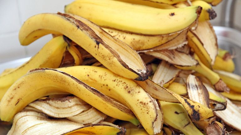 One of your five day? A dietitian has said eating banana skins is good for you