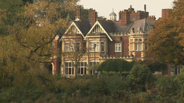 the spy agency moved to Bletchley Park in 1939 just before the start of the second world war
