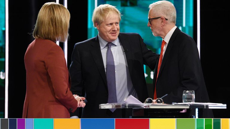 Boris Johnson and Jeremy Corbyn were laughed at during the leaders' election debate