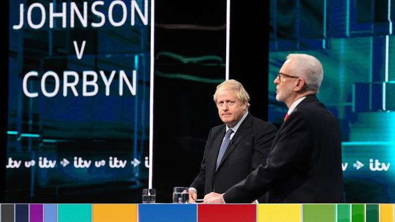 Boris Johnson and Jeremy Corbyn answer questions