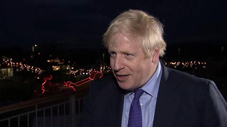 Boris Johnson still