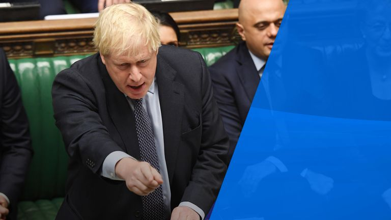 Boris Johnson wanted an election even though parliament backed his Brexit deal on principle