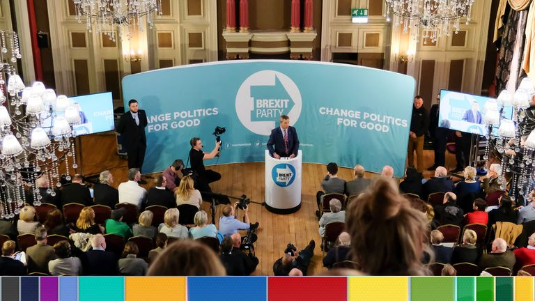 Brexit Party news conference