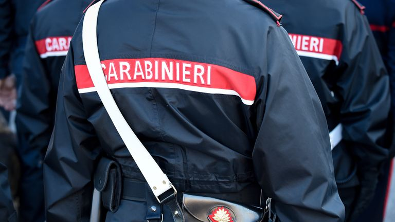 Italy's Carabinieri act as a police force