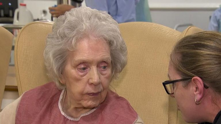 Sky News visited a care home in Sheffield which is strugling to stay in business.