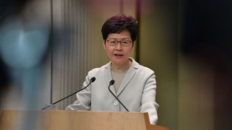 Mrs Lam said officials must now 'engage the people'