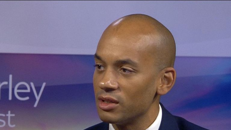 Chuka Umunna 'doesn't know' if Jeremy Corbyn is an antisemite