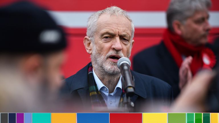 Jeremy Corbyn said it was good al-Baghdadi was out of the picture