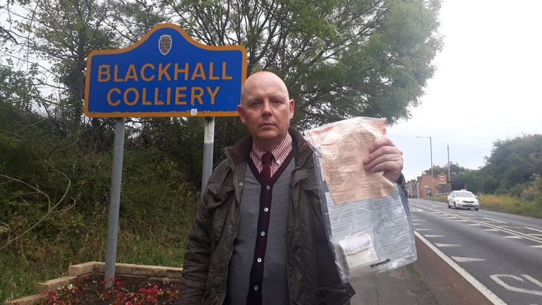 Police have praised residents in Blackhall Colliery for handing the money in