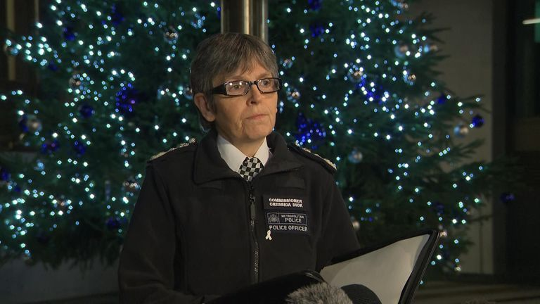 Police Commissioner Cressida Dick has said two members of the public have died and three others were injured in the attack.