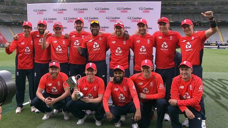 England cricket team still