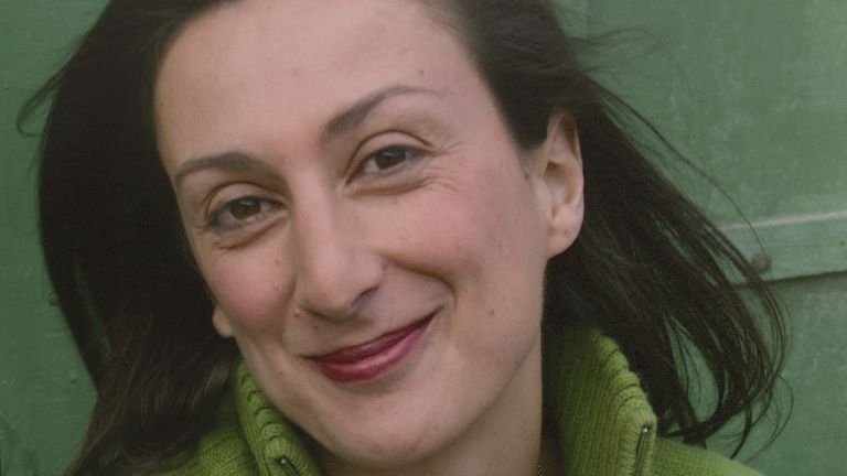 Daphne Caruana Galizia was killed in a bomb attack in 2017
