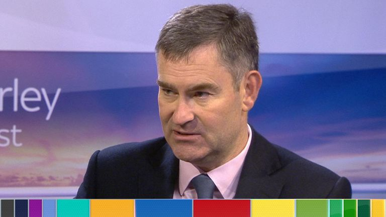 David Gauke, who's seeking re-election as an MP